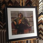 Portrait of Alden Nowlan fine art print