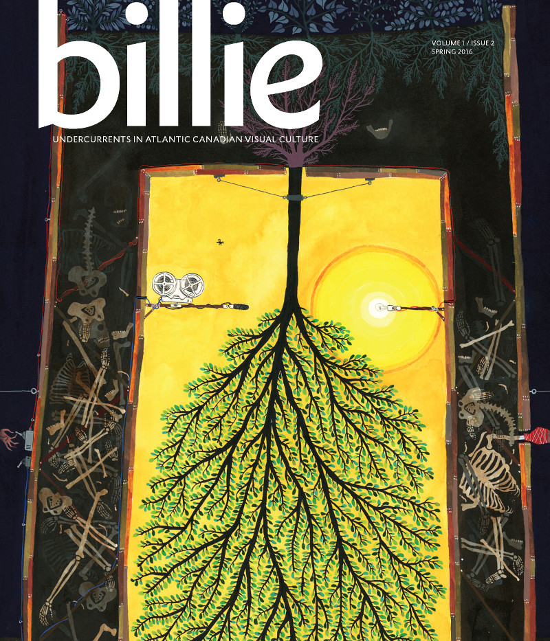 billie [cover], volume 1, issue 2, Spring, 2016