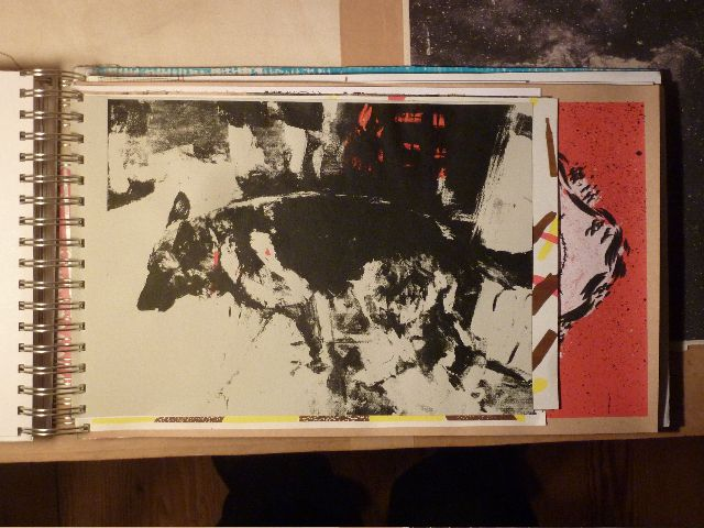 Strassenleben; Coyote WC-Press, Berlin. Limited Edition silkscreen book, 2011