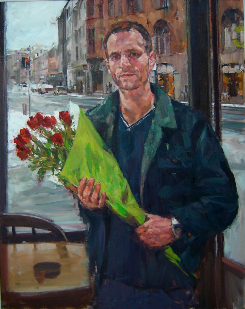 Flower seller at Tag und Nacht