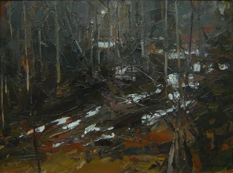 Sketch for Dark woods